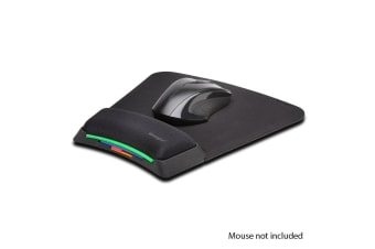 SmartFit Mouse Pad w/Gel Wrist Support/Height Adjustable/Anti-Microbial Surface