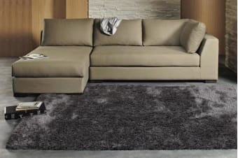 Twilight Shag Rug - Charcoal