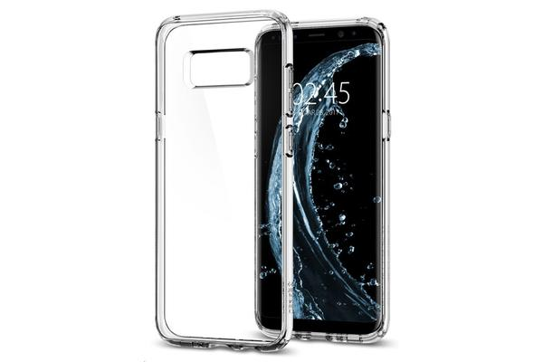 Spigen Galaxy S8 Ultra Hybrid Case Crystal Clear