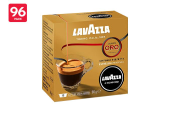Lavazza A Modo Mio Qualità Oro Coffee Capsules - 96 Pack (8 Packs of 12)