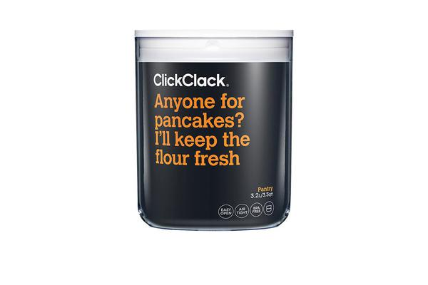 ClickClack Pantry Container 3.2L White
