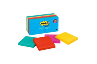 3M Post-It Note 654-14AU Jaipur 76X76mm Value Pack Pkt/12