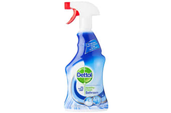 Dettol 500ml Healthy Clean Bathroom/Toilet/Tiles Cleaning Spray Cleaner Formula