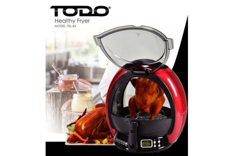 TODO 1500W Revolutionary All in One Health Cooker Air Oven Fryer T-SL63