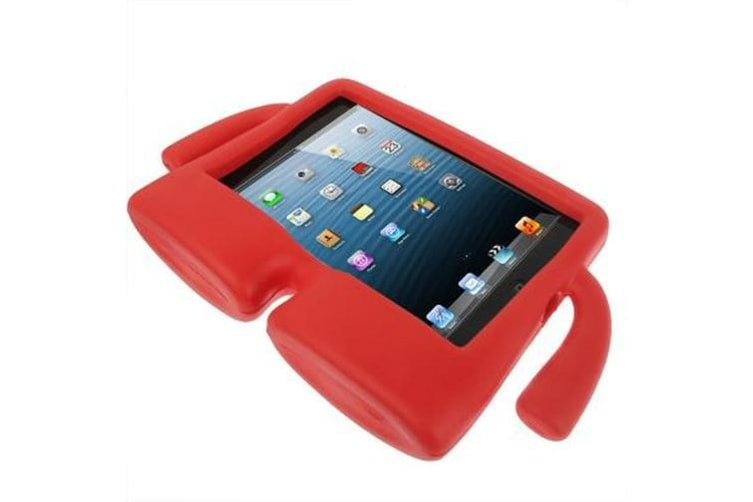 For iPad Mini 1/2/3 Case Free-standing Kid Friendly Foam Shielding Cover Red