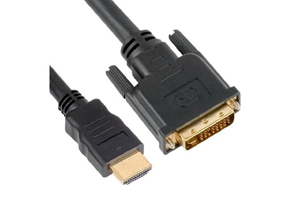 Astrotek HDMI to DVI-D Adapter Converter Cable 1m - Male to Male 30AWG OD6.0mm Gold Plated RoHS
