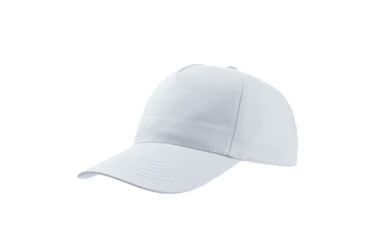 Atlantis Start 5 Panel Cap (Pack of 2) (White) (One Size)