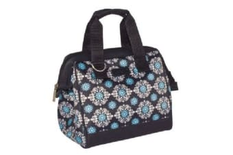 Sachi Style 34 Insulated Lunch Bag Medallion Black
