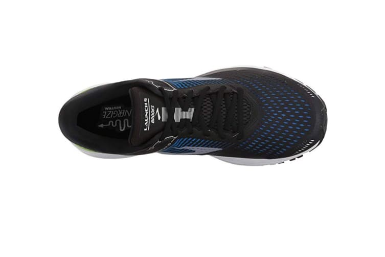 Brooks Men's Launch 5 (Black/Blue/Green, Size 10)