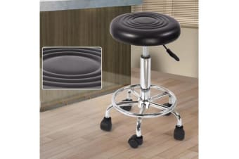 Hairdressing Salon Hydraulic Stool Barber Swivel Black