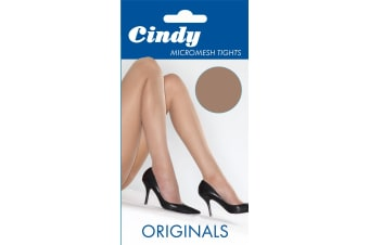 Cindy Womens/Ladies Micromesh Tights (1 Pair) (Sahara)
