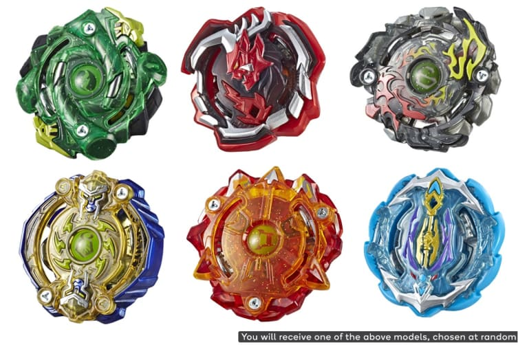 Beyblade Burst Turbo Slingshock Single Top (Assorted)