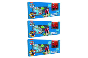 "3PK Paw Patrol 31.5"" x 27.5"" Megamat Playmat Kids Toys w/ Assorted Vehicle Car"