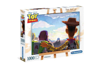 Official Disney Pixar The Art of Toy Story 1000pc Puzzle