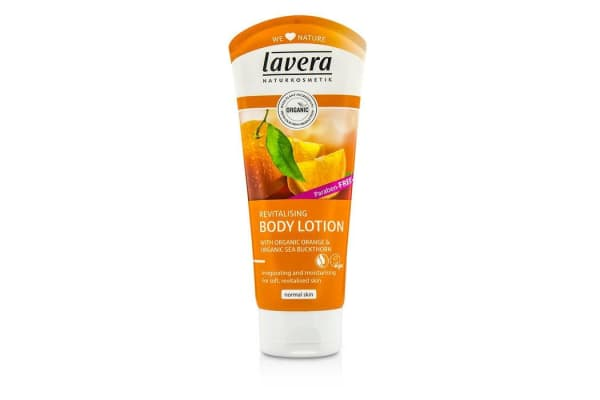Lavera Organic Orange & Sea Buckthorn Revitalising Body Lotion (200ml/6.6oz)