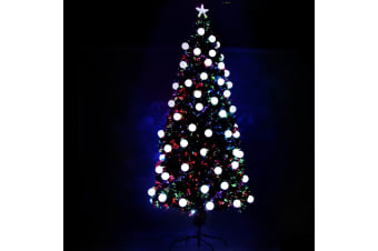 Jingle Jollys 7FT LED Globe Christmas Tree (Multi)