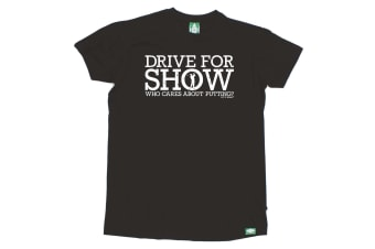 Out Of Bounds Golf Tee - Drive For Show Mens T-Shirt
