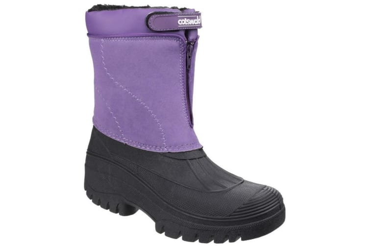 Cotswold Venture Waterproof Ladies Boot / Ladies Boots / Textile/Weather Wellingtons (Purple) (37 EUR)