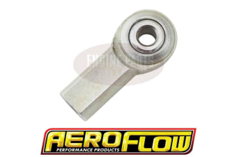 "Aeroflow Cable Rod End 10-32UNF 1/4"" Hole"