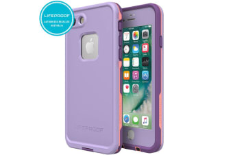 Lifeproof Fre Coral/Lilac Case/Cover for iPhone 7/8