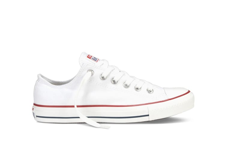 Converse Chuck Taylor All Star Ox Lo (Optical White, US Mens 9 / US Womens 11)