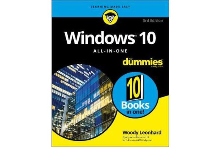 Windows 10 All-In-One For Dummies