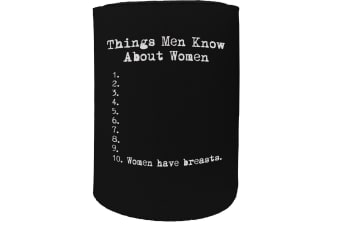 123t Stubby Holder - things know men - Funny Novelty