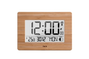Multifunctional Radio Digital Alarm Clock For Weather Forecast - Yellow Yellow