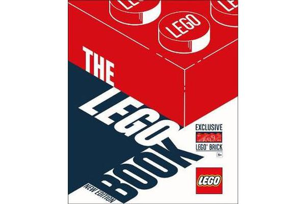 The LEGO Book New Edition - with exclusive LEGO brick
