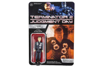 Terminator 2 Judgement Day T-1000 Final Battle ReAction Fig