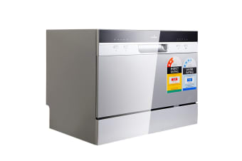 5 Star Chef Electric Benchtop Dishwasher (Silver)