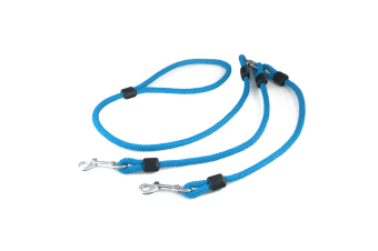 The Animate Company Outhwaites Rope Lead Coupler (Blue/Black)