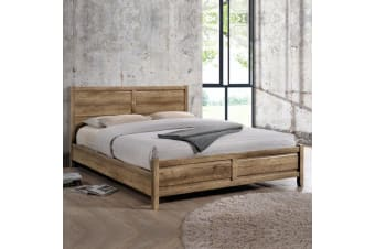 Alice Bed King Oak Colour