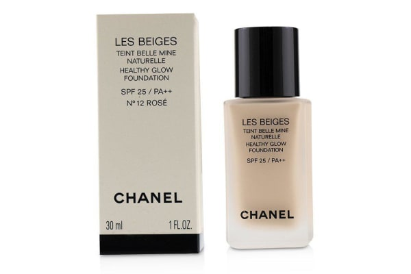 Chanel Les Beiges Healthy Glow Foundation SPF 25 - No. 12 Rose 30ml/1oz