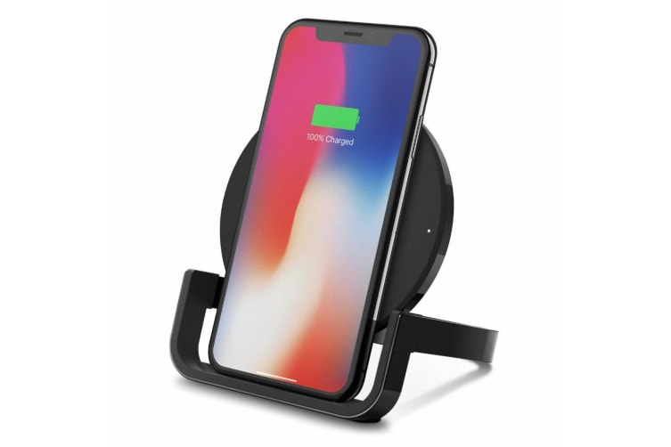 Belkin Boost Up Wireless Charger 10W Qi Charging Pad w/ Stand for iPhone/Samsung