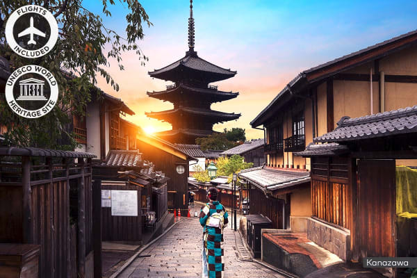JAPAN: 11 Day Authentic Japan Tour Including Flights For Two