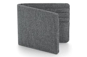 Bagbase Essential Card Wallet (Grey Marl) (One Size)
