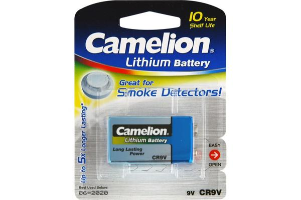 Camelion 9V Lithium 10 Year Battery