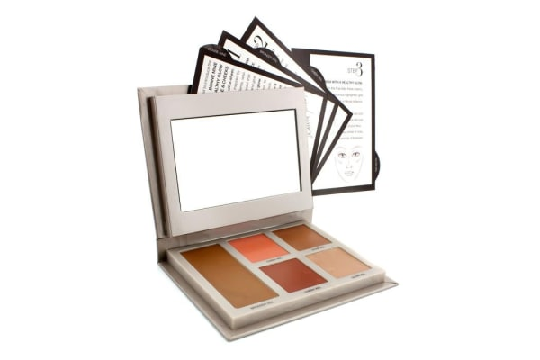 Laura Mercier Bonne Mine Healthy Glow For Face & Cheeks Palette: 1x Bronzer Veil + 2x Cheek Veils + 2x Glow Veils (5pcs)
