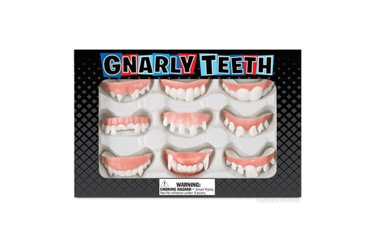 Archie McPhee - Set of 9 Gnarly Teeth