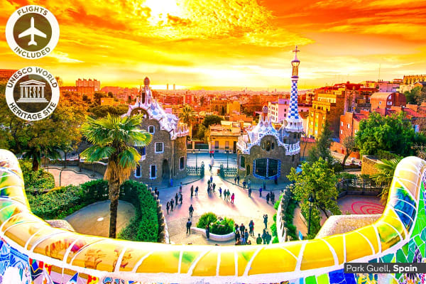 EUROPE: 17 Day European Wonders Tour Including Flights for One