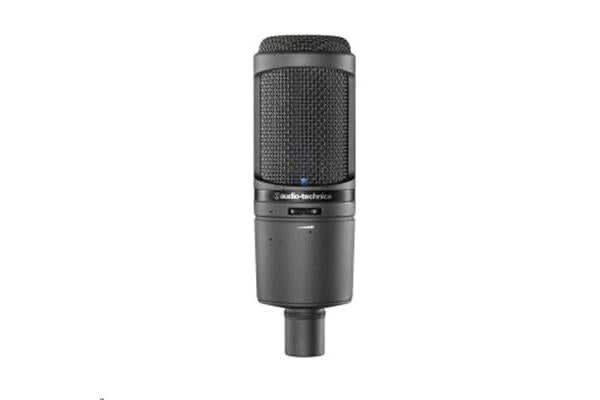 Audio-Technica AT2020USBI Cardioid Condenser USB Microphone - Large Diaphragm with 24-bit/96kHz A/D
