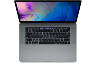 Apple Macbook Pro 15-inch 2018 512GB+16GB 2.6GHz i7 (US Keyboard) (Touch Bar) - Space Gray