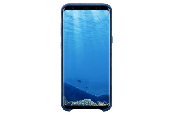 Samsung Galaxy S8+ Alcantara Cover (Blue)