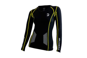 Fortis Women's Compression Top (Long Sleeve, Large)