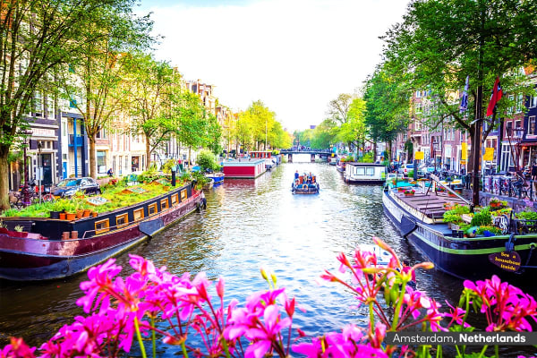 EUROPE: 14 Day Exciting Europe Tour Including Flights for Two