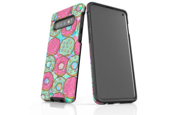 For Samsung Galaxy S10 Case  Armour Tough Cover  Donuts