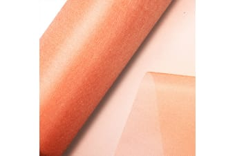 Club Green Organza 10 Metre Snow Sheer Roll (Peach)