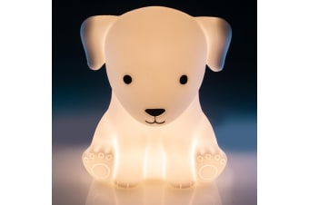TouchSensitive Soft Silicone Puppy Rabbit Rechargeable LED Night Light