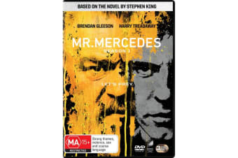 Mr Mercedes Season 1 Box Set DVD Region 4